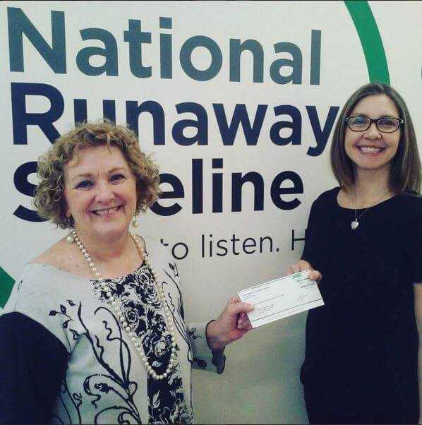 Coldwell Banker Supports Our Work With Runaway Youth through Donation