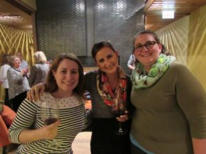 Andrea, Erica Wolfort, Gwen Clancy at our youth crisis services volunteer appreciation event