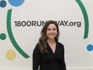 New Board Member of the National Runaway Safeline, Adriana Kissel
