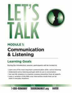 No One Listens to Me - Communication and Listening Module
