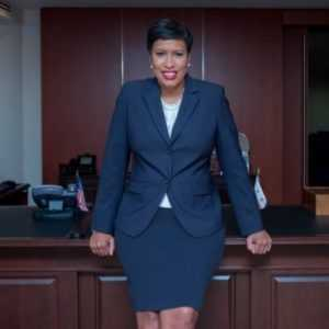Mayor Muriel Bowser of Washington, D.C.