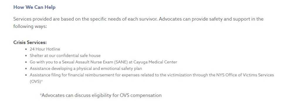 Abuse Victims Services | The Advocacy Center
