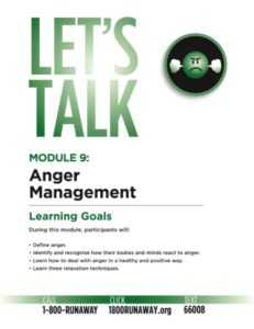 Anger Management for Teens and Young Adults | Module 9 | Lets Talk Runaway Prevention Curriculum