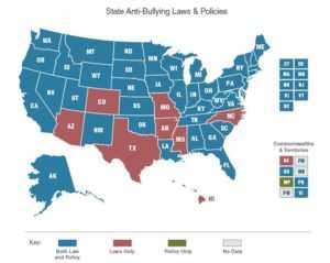 State Laws on Bullying from StopBullying | Resources for Bullying Victims
