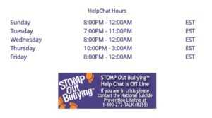 Stomp Out Bullying Helpline | Resources for Bullying Victims