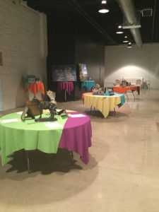 Silent Auction Items at Spirit of Youth 2017