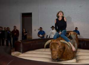 Bull riding at Spirit of Youth 2017
