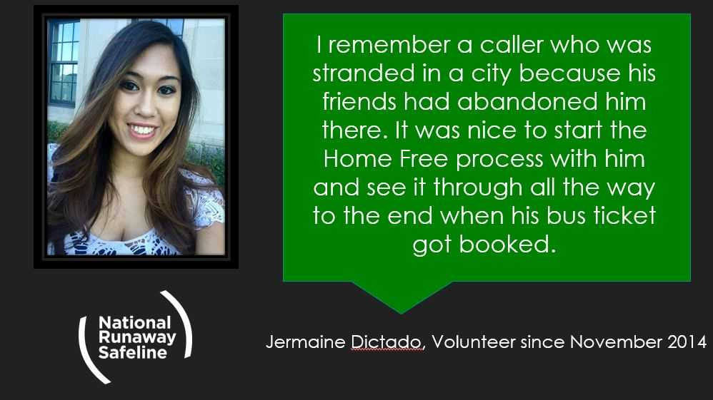 Why Volunteer at a Hotline for Runaway Youth? | Jermaine Dictado
